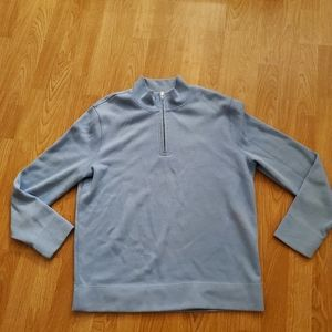 Faconnable Half Zip Cotton Sweater